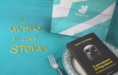 """Food Delivery: cibo e libri con """"il gusto di una storia"""""""