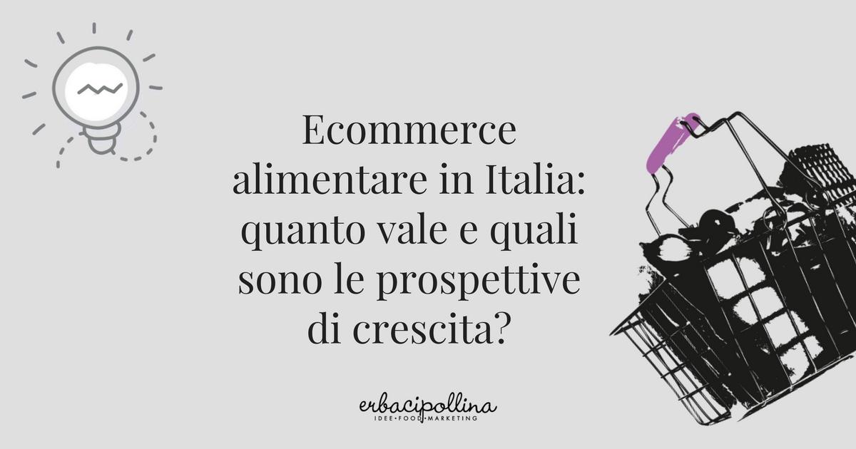 panoramica sull'ecommerce alimentare in italia