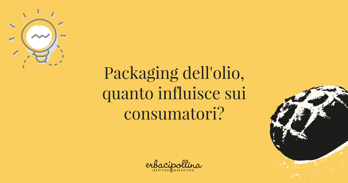 il packaging dell'olio e la sua importanza