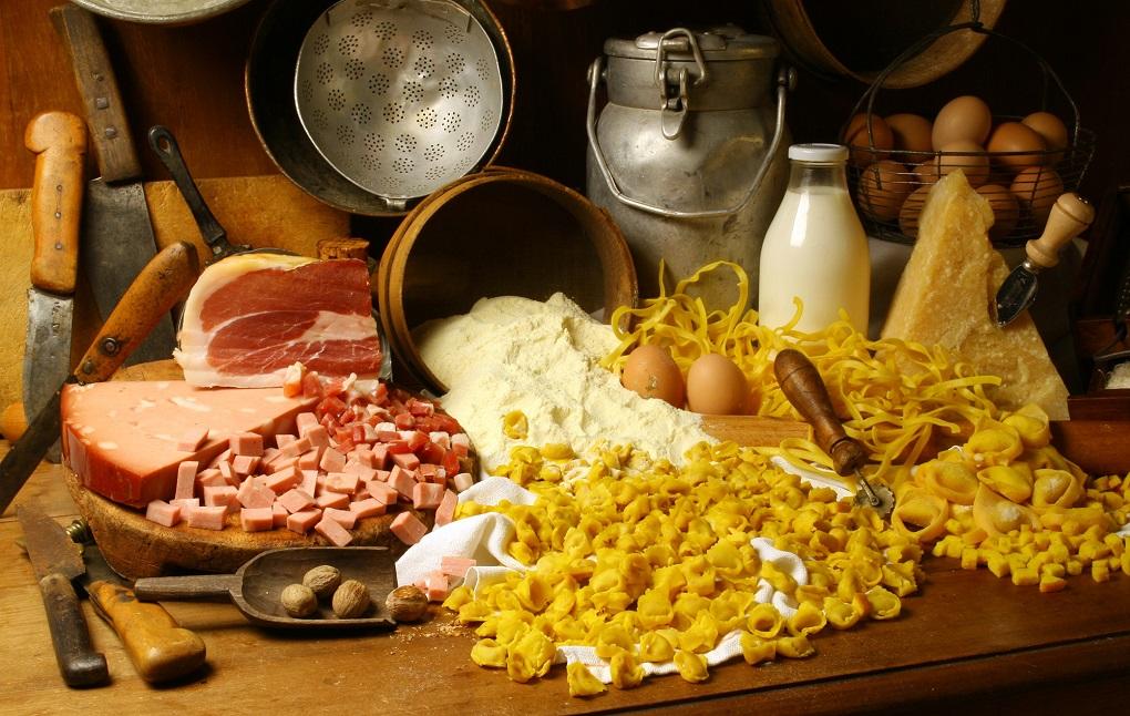 tipici prodotti sui viaggi gastronomici