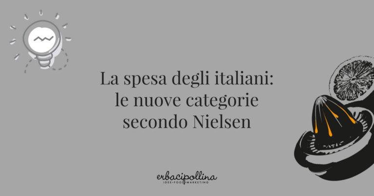 La spesa degli italiani, le nuove categorie secondo Nielsen
