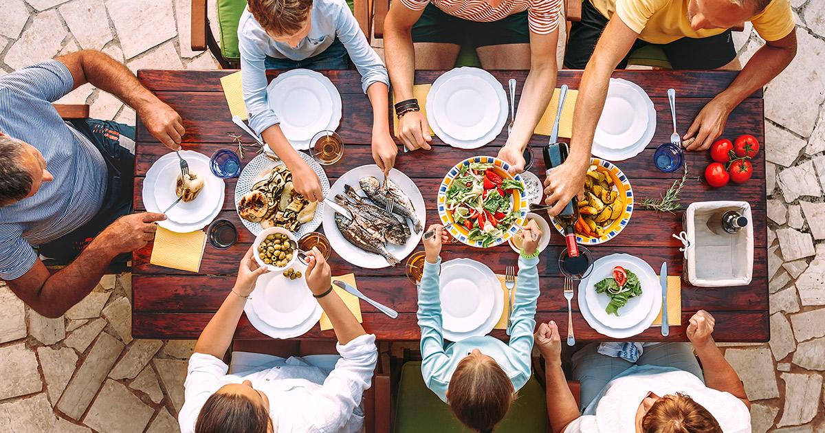 le generazioni e il food